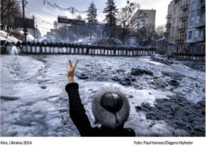 Protests in Kiev Ukraina 2014